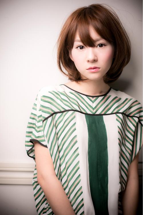 美髪♪簡単スタイリングフェミニンボブ
