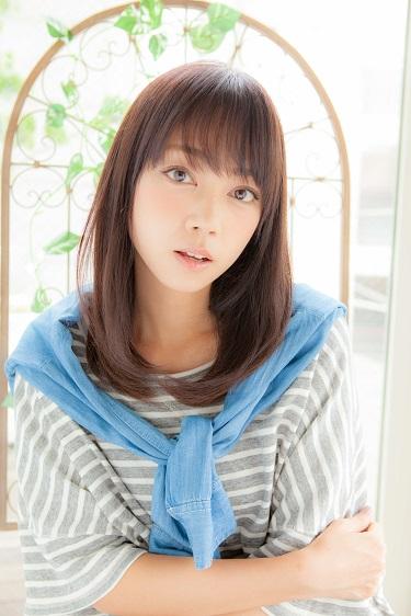 Euphoria【伊藤祐介】黒髪でも可愛い女子度アップ大人セミディー