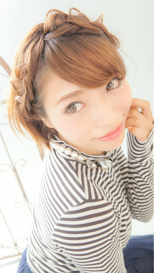 【Euphoria】☆Happy★☆簡単ヘアアレンジ