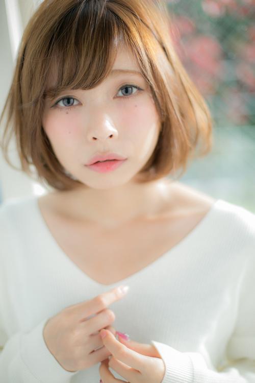 【Euphoria】バッサリ切りたい女の子の憧れ☆無敵のピュアボブ