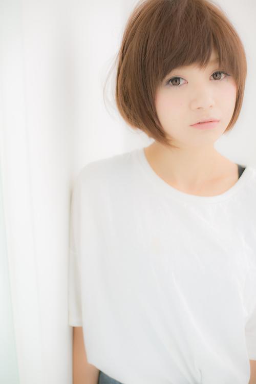 【Euphoria】小顔効果絶大の王道マッシュショート☆