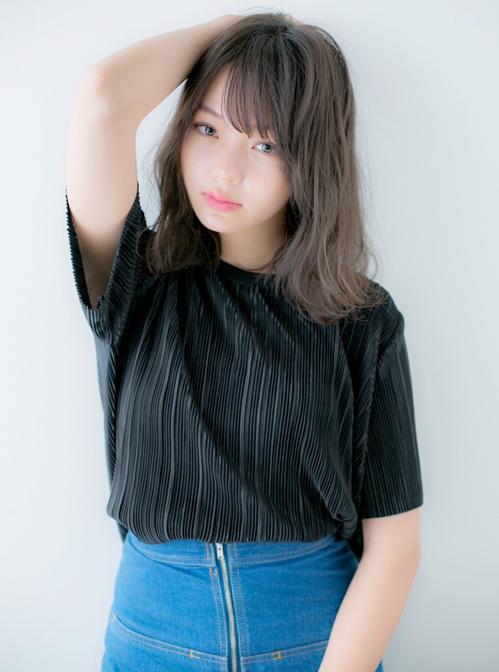 【Euphoria】大人かわいい☆抜け感のある小顔ロブ★