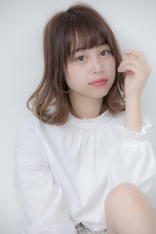 【Euphoria】外ハネmixの甘ふわガーリーロブ☆