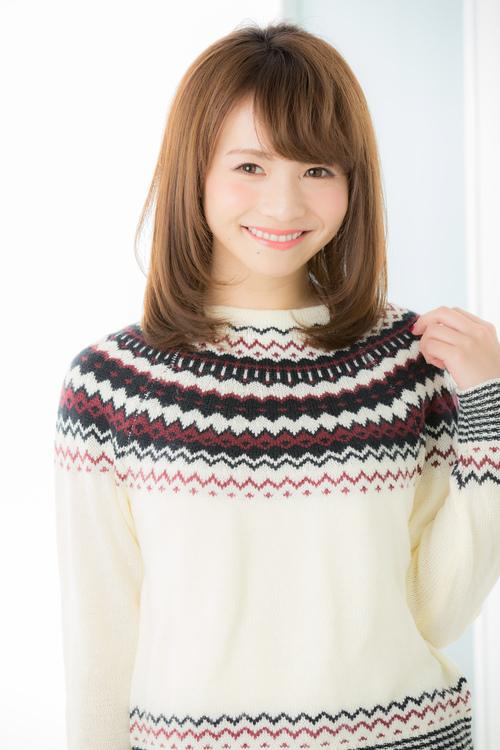 【Euphoria銀座】顔周りが可愛いミディアムレイヤー by片桐