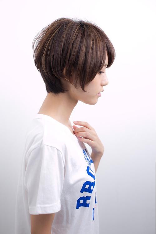 【Euphoria銀座】スタイリッシュショートボブ
