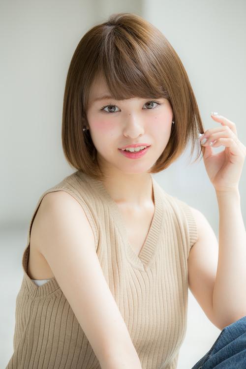 【Euphoria銀座】大人の可愛いショートボブ:担当 平田