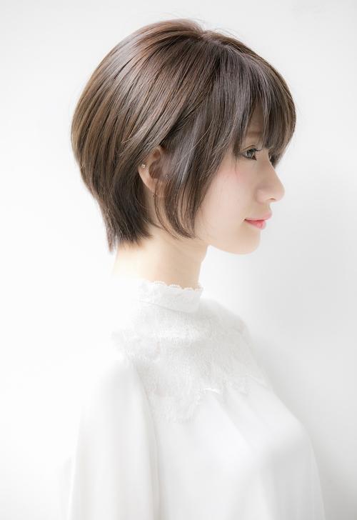 【Euphoria銀座】絶壁解消×小顔ふんわりショート