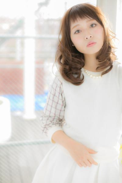 【Euphoria銀座】ショートバング春ウェーブ♪ 担当:稲葉千尋