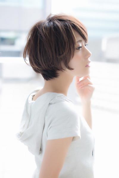 【Euphoria銀座】ふんわりショートボブ 担当:稲葉千尋