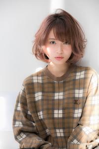 【Euphoria銀座】エアリーショートボブ 担当:稲葉千尋