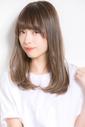 【Euphoria GINZA】透明感◎柔らかストレートタッチのセミディ