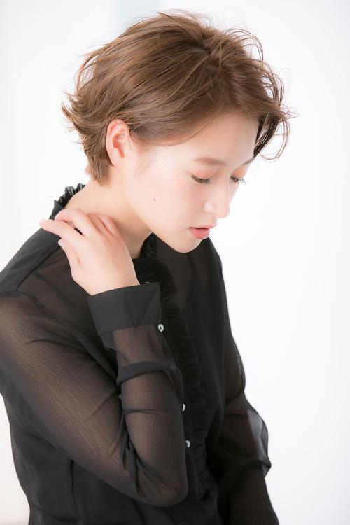 【Euphoria銀座】セミウェットショートスタイル 担当 田川