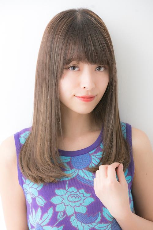 【Euphoria GINZA】清涼感のあるツヤ髪セミロング☆担当畑