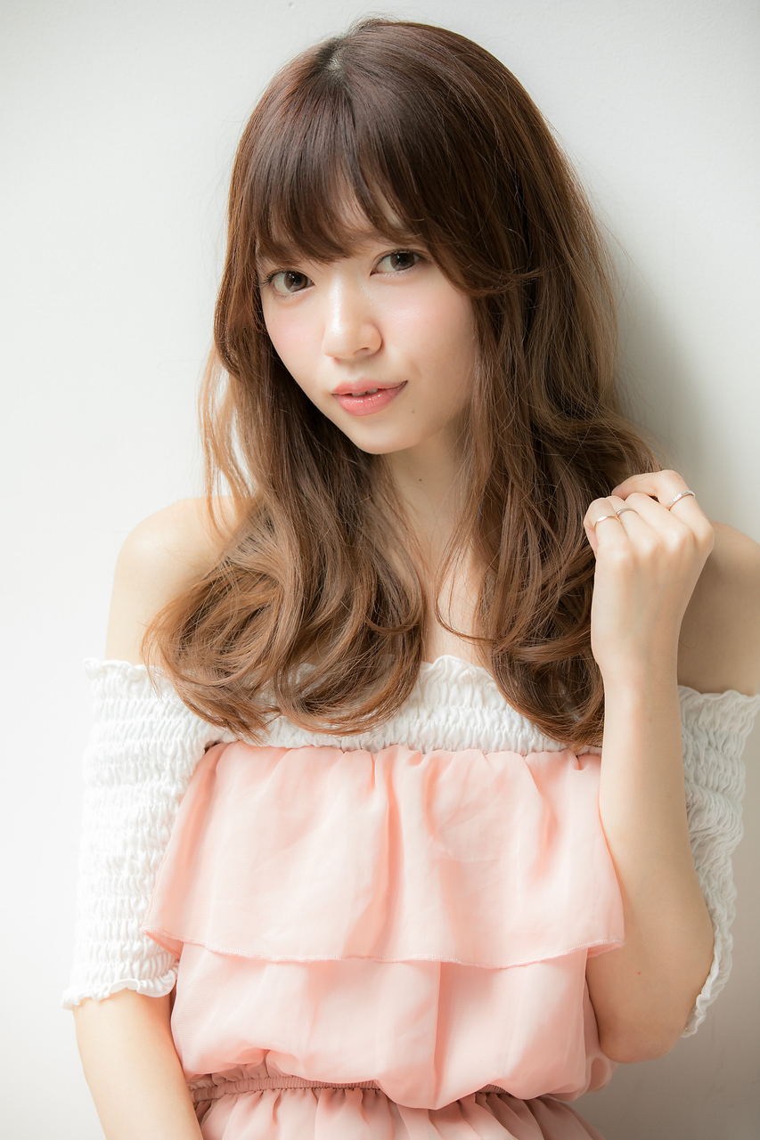 【Euphoria銀座本店/立花】小顔前髪&イルミナカラー