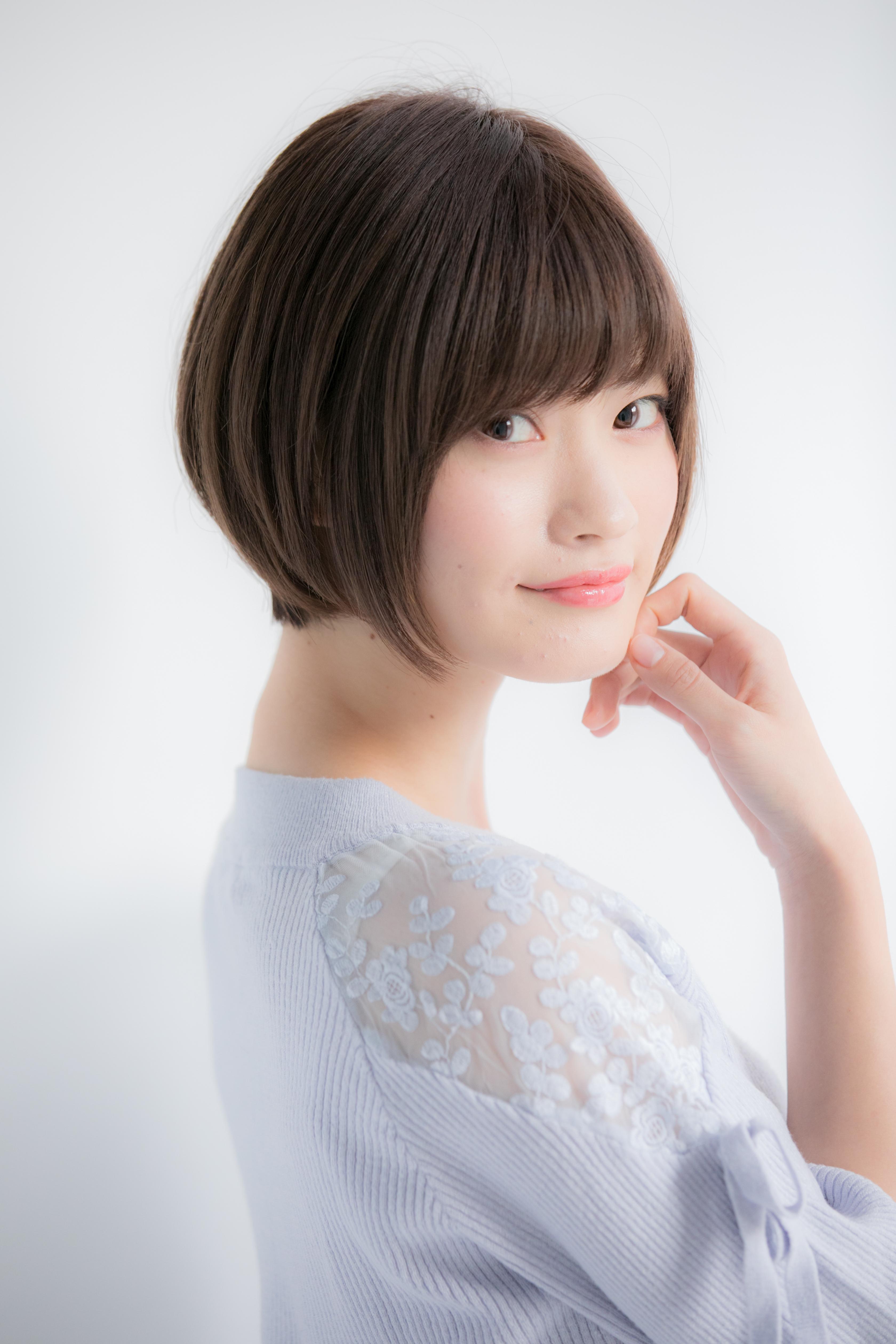 【Euphoria銀座本店】360度綺麗な小顔ショートボブ☆長谷川