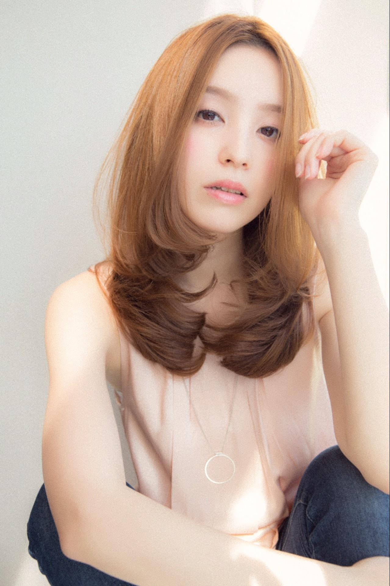 【Euphoria銀座本店】王道可愛い☆センター分けワンカール by斎藤