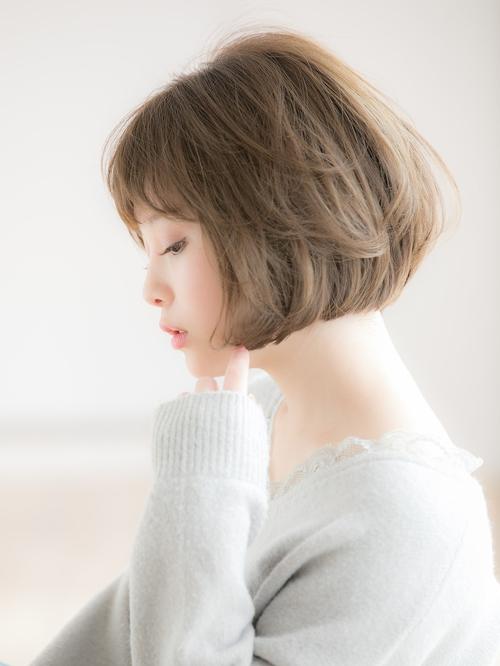 【Euphoria 金沢】マシュマロカールの小顔ゆるふわボブ♪