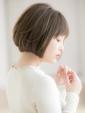 【Euphoria 金沢】柔らかナチュラル小顔ショートボブ♪