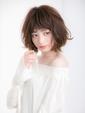 【Euphoria 金沢】ラフカールが可愛いふんわりエアリーボブ♪