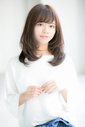 【Euphoria 金沢】フェミニンな小顔ゆるふわミディ♪