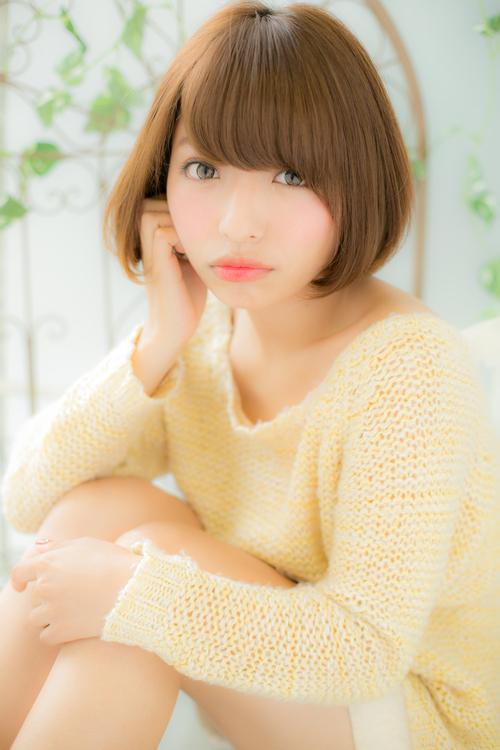 【Euphoria】前髪と顔周りで小顔に見えるショートスタイル☆ 担当 小林