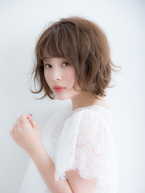 【Euphoria 金沢】はねカールが可愛いエアリーショートボブ♪