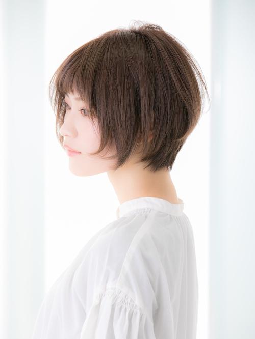【Euphoria 金沢】☆小顔+絶壁解消☆大人ショートボブ♪