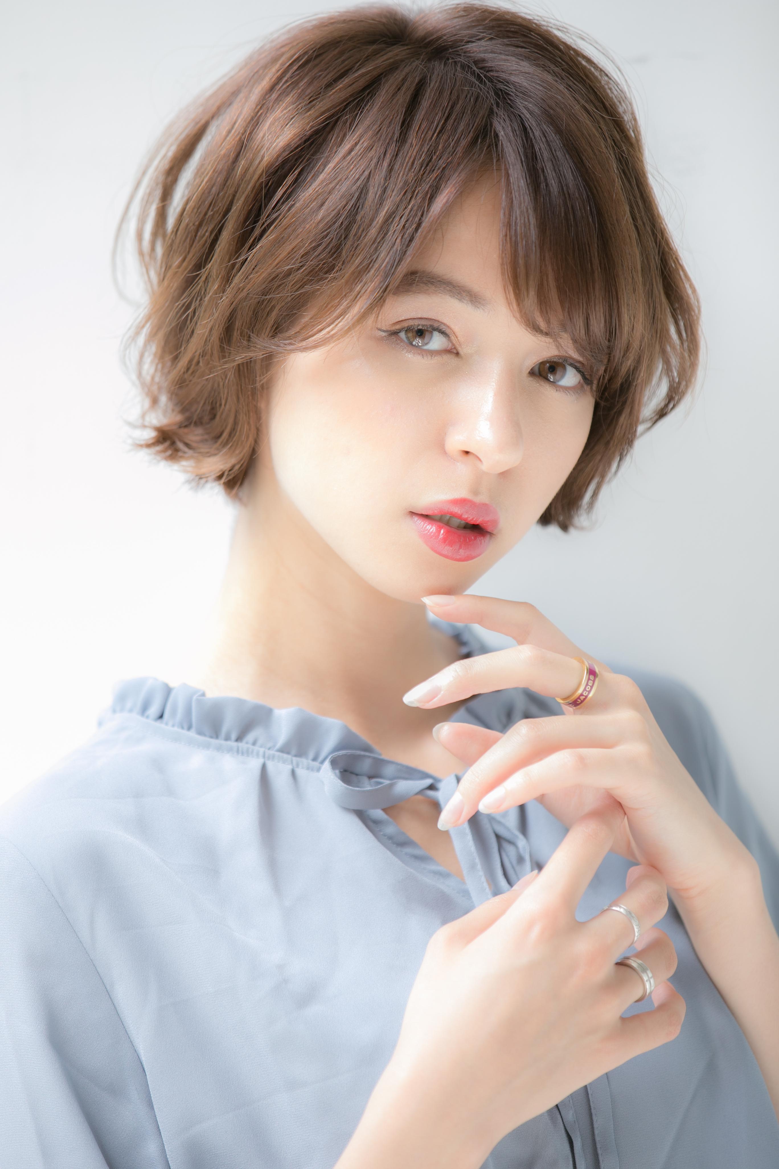 【Euphoria 小顔】ふんわりショート 担当 渋谷