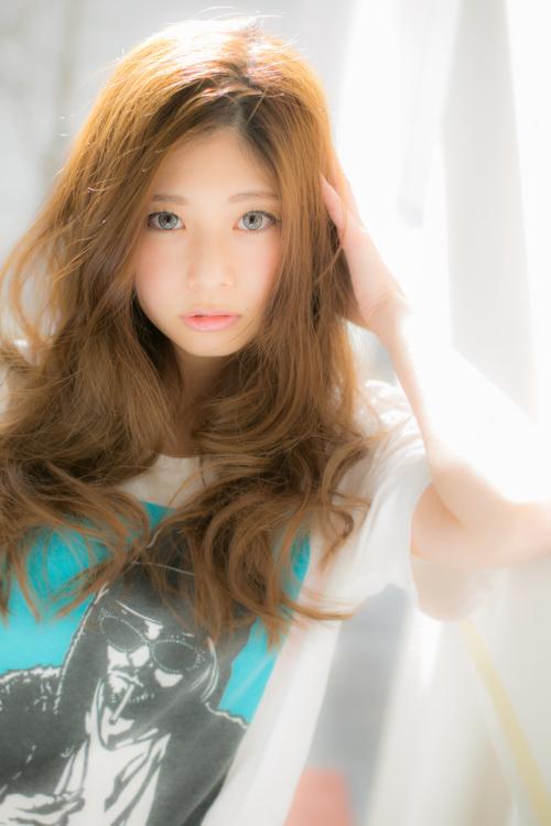 【Euphoria】おきぬけヘアーでルーズに彩り☆リラックスロング