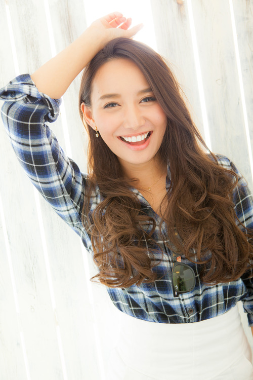 【Eupjoria】巻き髪ロング☆大人かきあげバング
