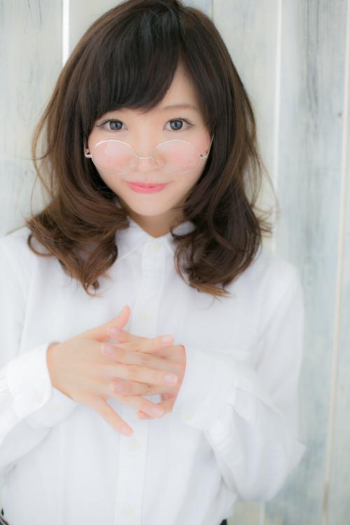 【Euphoria】ツヤが命☆ふわカールセミディ☆担当 福田