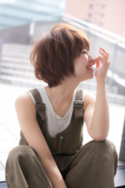 【Euphoria】愛されHAPPY小顔ショート☆ 担当 福田