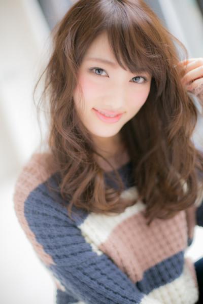 【Euphoria】ふわふわ小顔ウェーブスタイル☆ 担当 福田