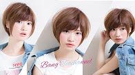 ☆ ストレートアイロンで作るおろし流し前髪☆ 簡単スタイリング