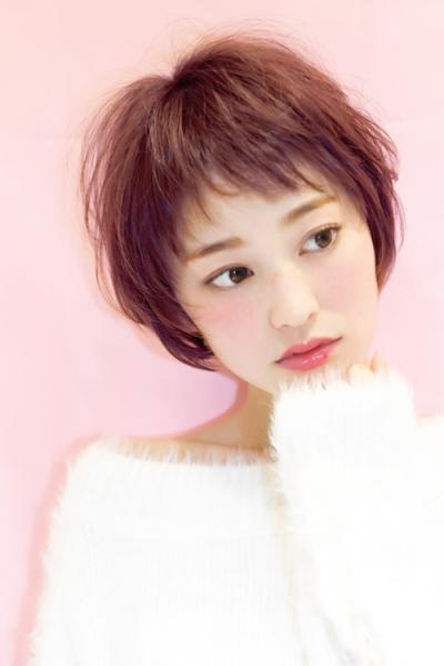 Sweetショート×ピンクパープル☆