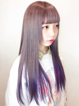 ピンク×ラベンダーフェアリーグラデーション☆担当 宍戸 直樹