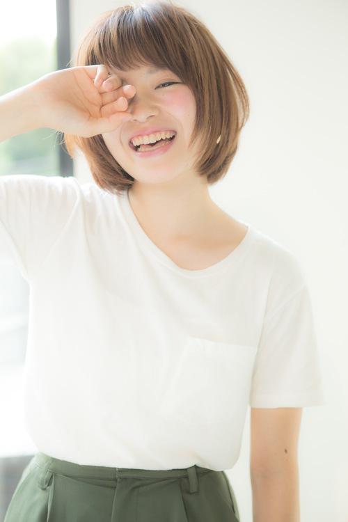 【Euphoria】ポジティブなオーラをまとう♪スッピンショート☆