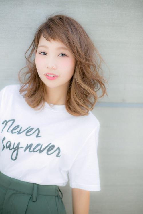 【Euphoria】2WAYバングで差をつける☆可愛さ×色気mixミディ2