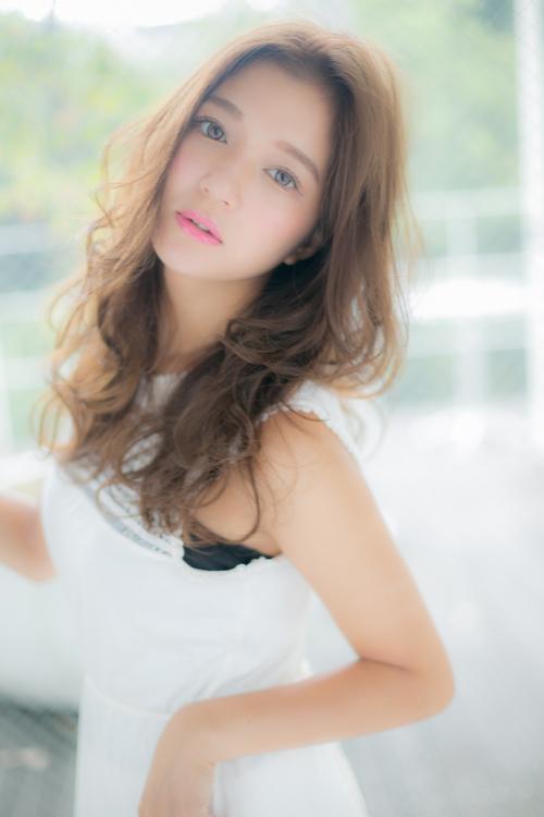 【Euphoria】透けるツヤ髪で恋に落ちるモテ髪☆ハッピーロング