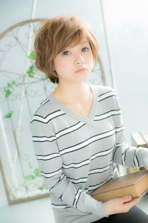 【Euphoria】愛されキュートなショートパーマ☆大人MIX☆