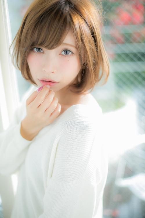 【Euphoria】小顔が約束された、女の子の憧れふんわりボブ☆