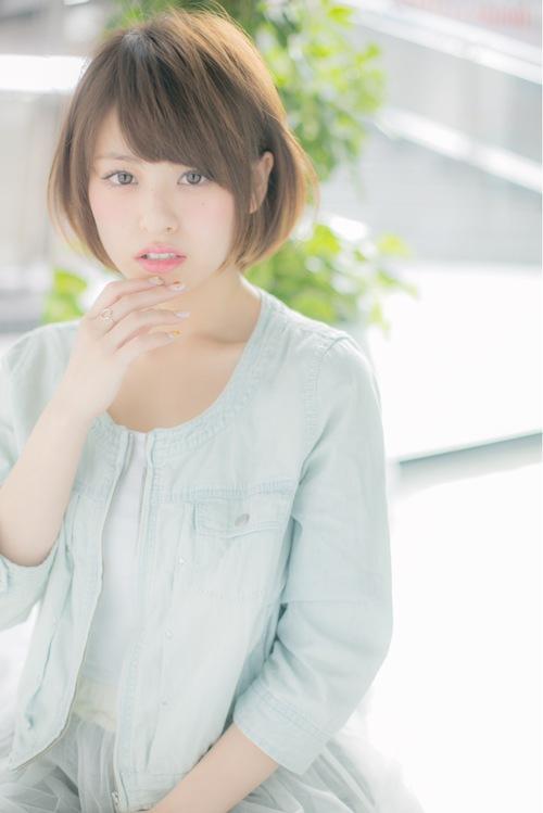 【Euphoria】清楚で可憐な乙女系ナチュラルショート☆