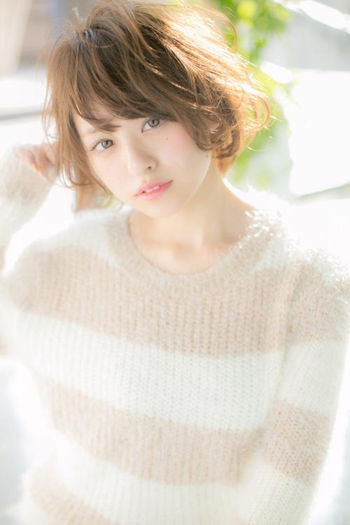 【Euphoria】小顔効果も抜群な☆愛されゆるふわショート