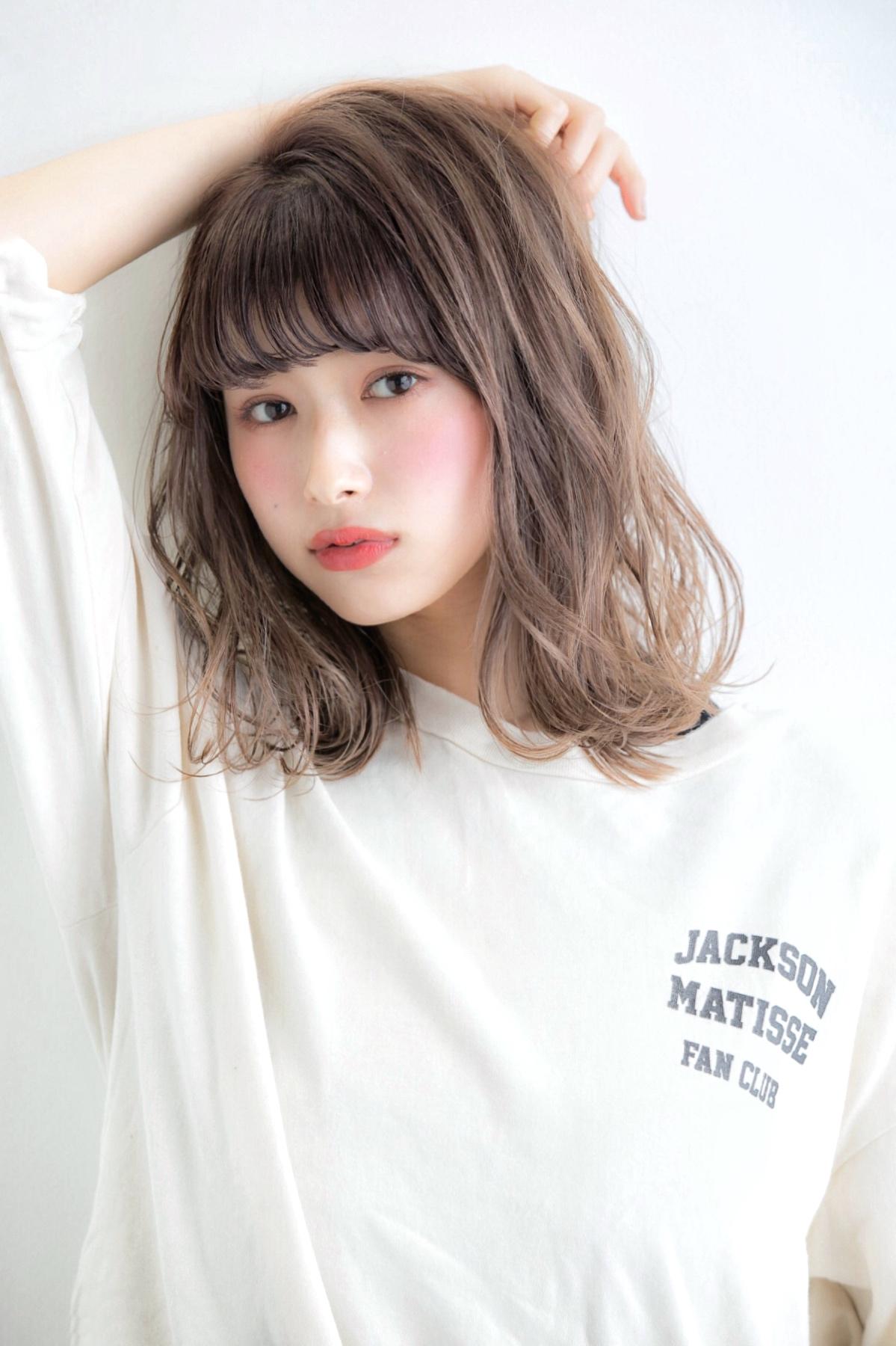 【Euphoria/植原】小顔 くびれセミディ