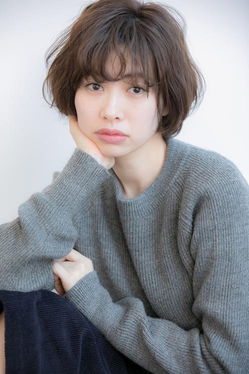 【Euphoria/三田淑絵】大人かわいいショートボブ