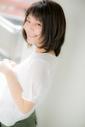 【Euphoria/三田淑絵】斜めショートバングのナチュラルミディ