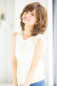【Euphoria/三田淑絵】愛され可愛い無造作ふわミディ