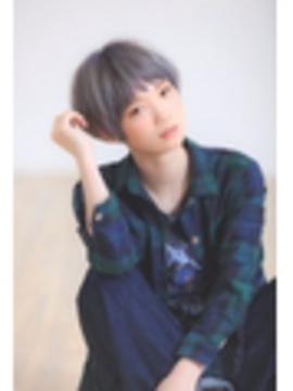 【Euphoria】 グレージュショート