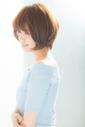 【Euphoria齋藤】シルエットが綺麗なひし形ショートボブ