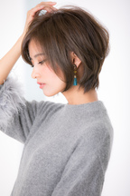 【Euphoria松本】大人ノーブルショート☆くびれ耳かけスタイル
